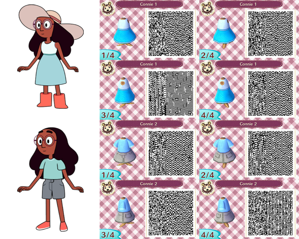 Steven universe animal crossing new leaf qr codes Dress Miltonbarbarosh Steven Universe Tee Qr Code For Animal Crossing New Leaf By