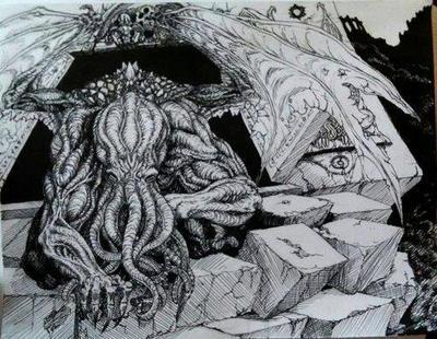 the sleeper of R'lyeh awakens by death11810