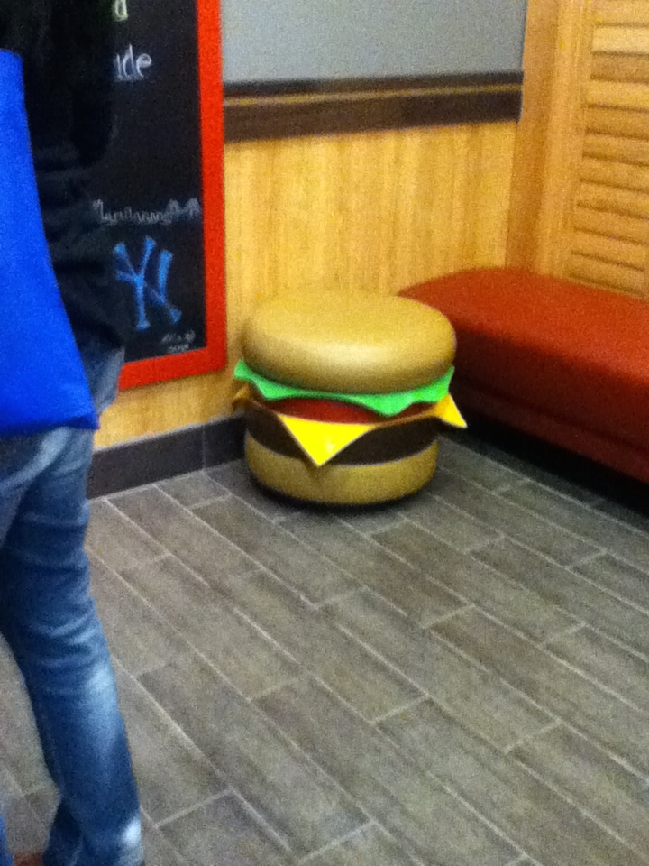 burger seat by wolfyloveanime