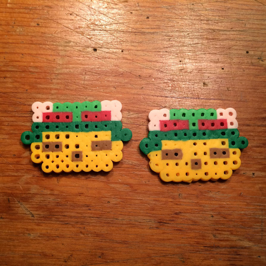 perler teemo by wolfyloveanime