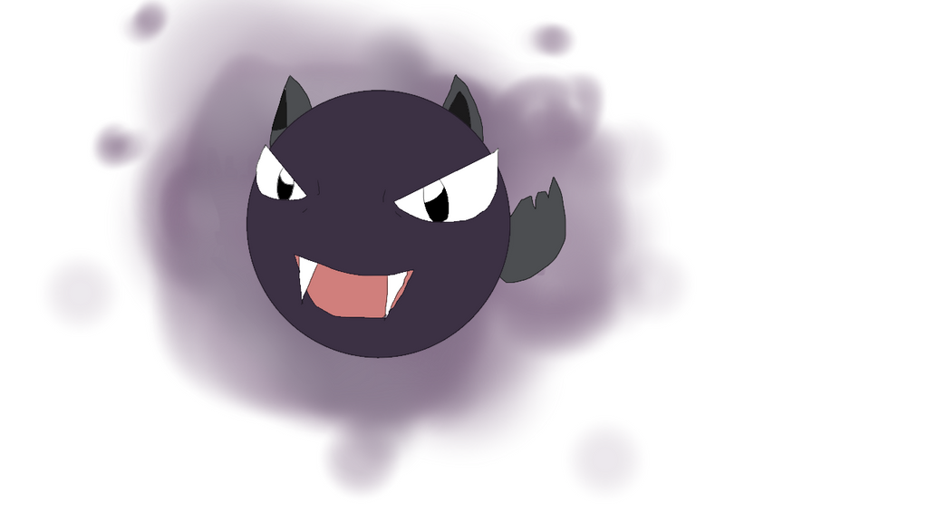 gastly noll by wolfyloveanime