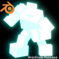 AnimDude Blender Release [FNAF/ReleasePublic] by GreenyBon