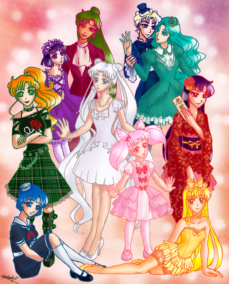 Sailor Moon Lolita by tsubaki11