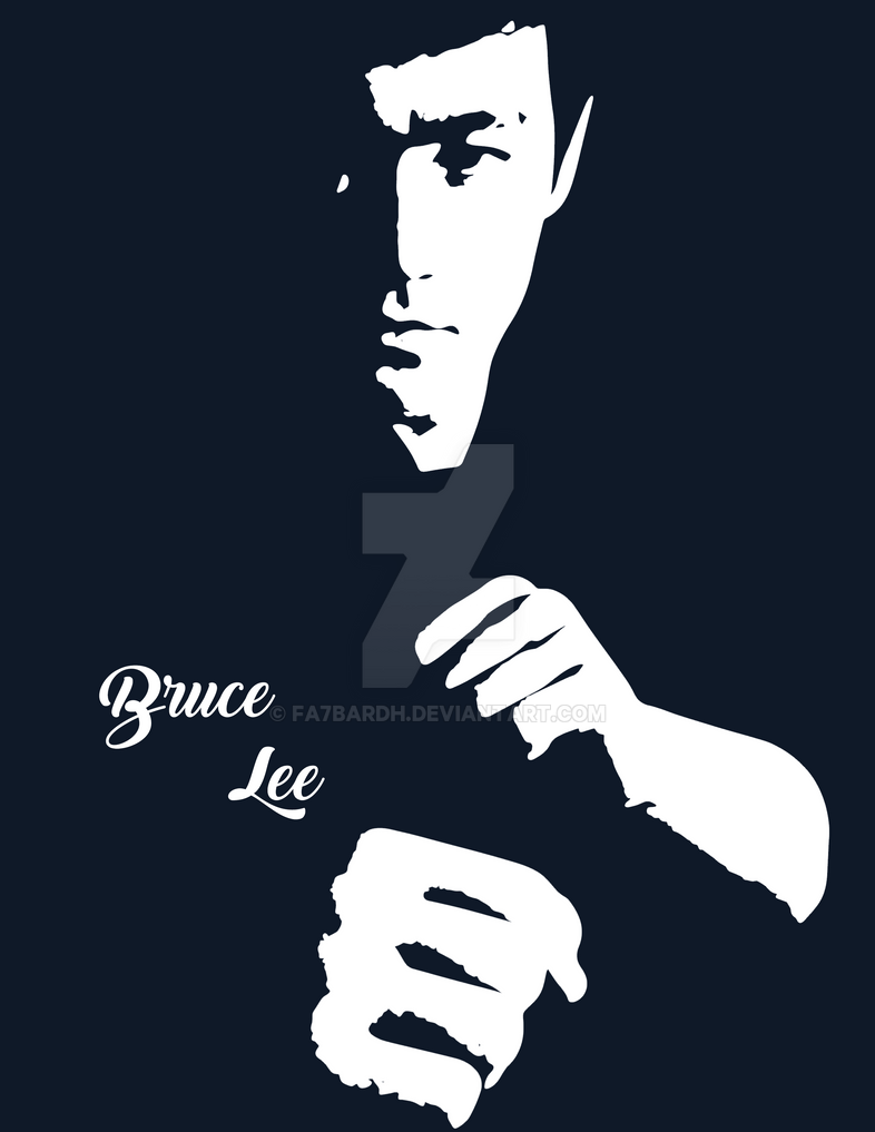 Bruce Lee T-shirt 2 by fa7bardh