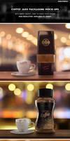 Coffee Jars Packaging Mock-Ups by Kheathrow