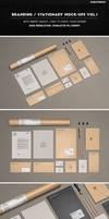 Branding / Stationery Mock-Ups Vol.1 by Kheathrow