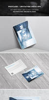 Photorealistic 6x4 Postcard  Invitation Mock-Ups by Kheathrow