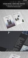Stylish Poster/Flyer 24x36 Mock-Ups by Kheathrow