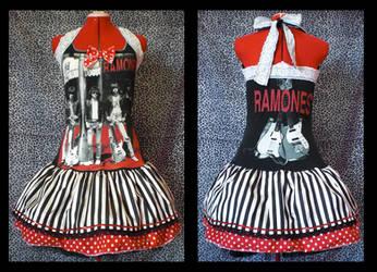 ramones dress by Maraleopard