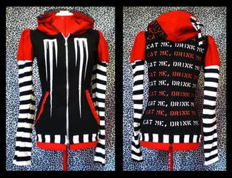 marilyn manson hoodie by Maraleopard