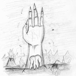 Hand from the Depths