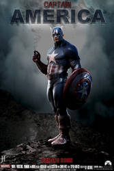 Captain America Movie Poster by Facelift-Persona