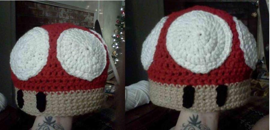 Crochet Mario Mushroom Hat By Novagirl10 On Deviantart