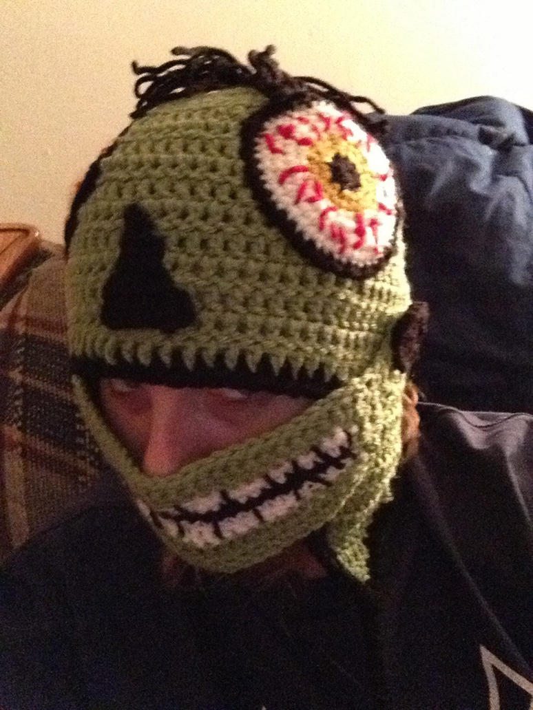 Free Crochet Patterns Zombie : Crochet zombie hat by novagirl10 on DeviantArt