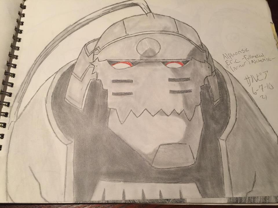 Alphonse Elric Armor by madam3gr33n
