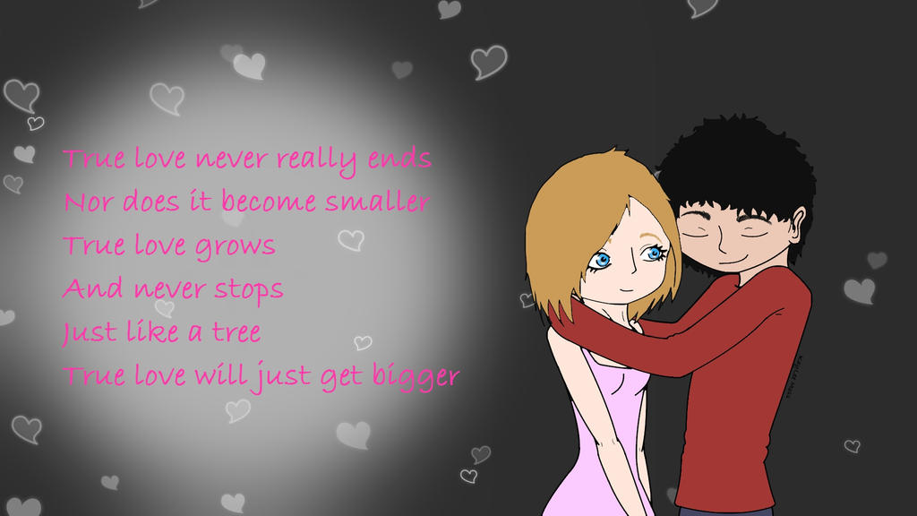True Love Wallpaper by KayLeeMoss on deviantART