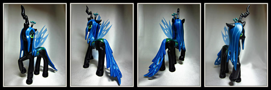 Queen Chrysalis 360 by Dragon620026