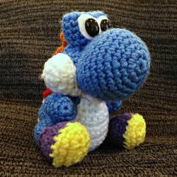 Blue Yoshi by Dragon620026