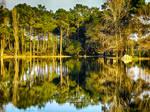 Crossing the Lake by NunoPires
