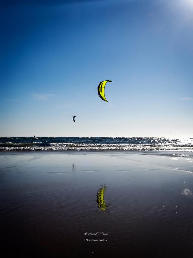 Kitesurfing by NunoPires