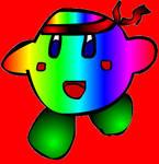 Rainbow Fighter Kirby