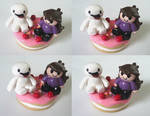 James And Jaiden Clay Figure~