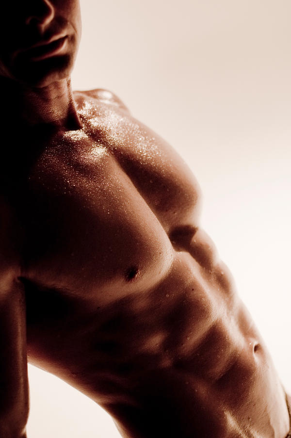 Male Torso by Tony-Lin