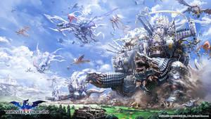 Monster x Dragon 1st main visual
