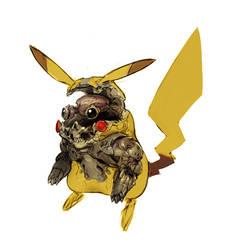 Mecha Pikachu by CristianPenas