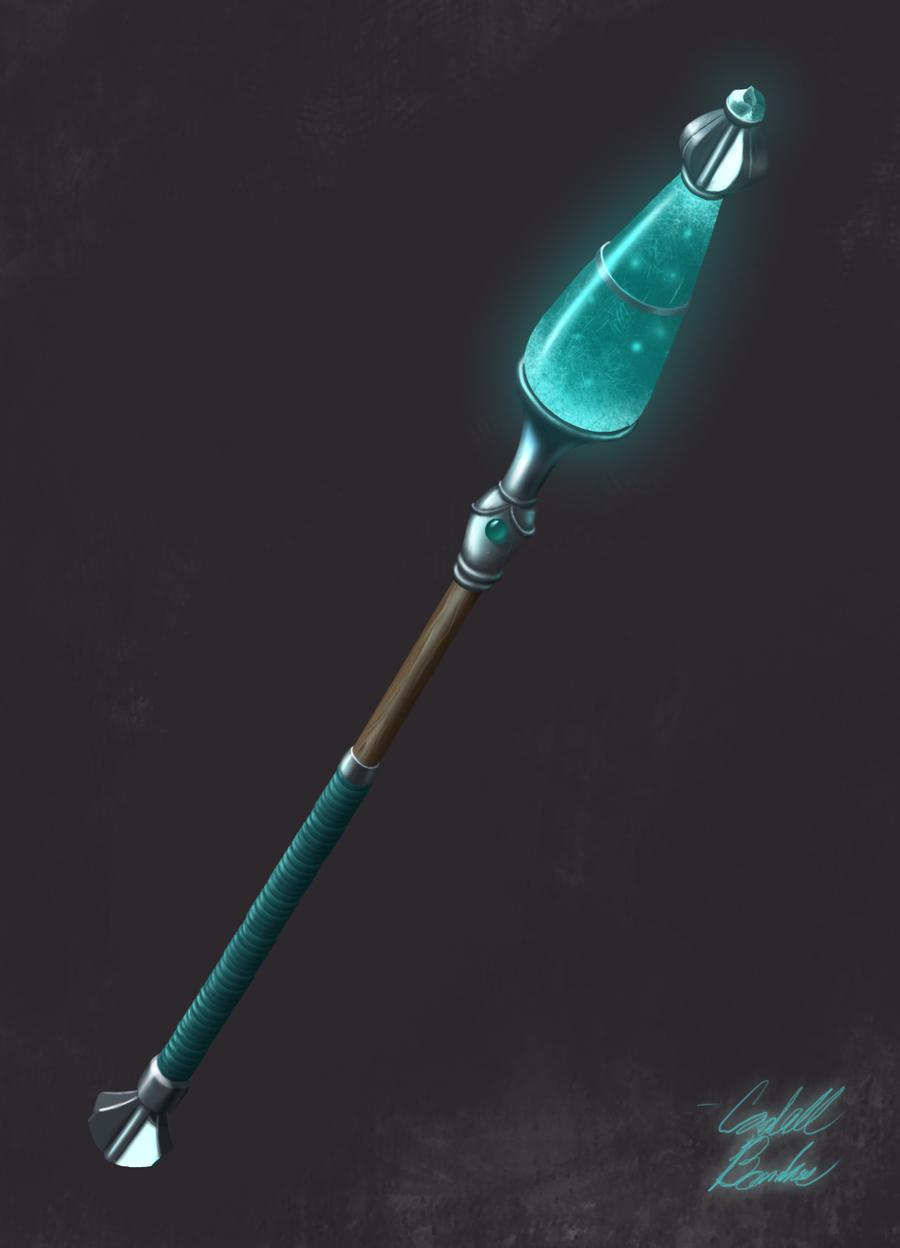 Rune Staff by QuesoGr7