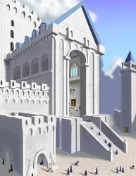Ilvermorny Entrance (so far) by QuesoGr7