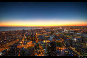 Sunset Over Melbourne by Kaboose-18