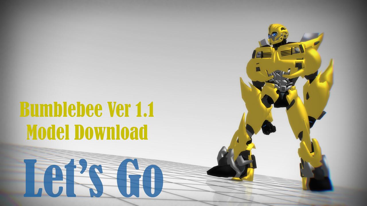 MMD Transformers] Bumblebee (Model DL) by Ryokuru on DeviantArt