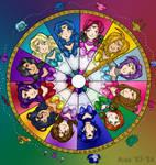 Elera's Zodiac Senshi Wheel