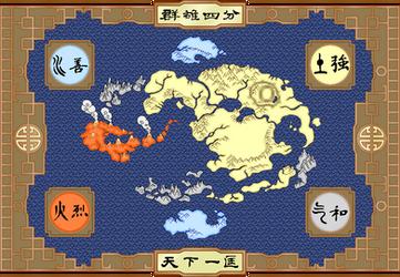 Pixel Avatar Map by ykansaki