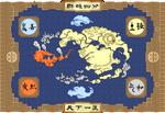 Pixel Avatar Map
