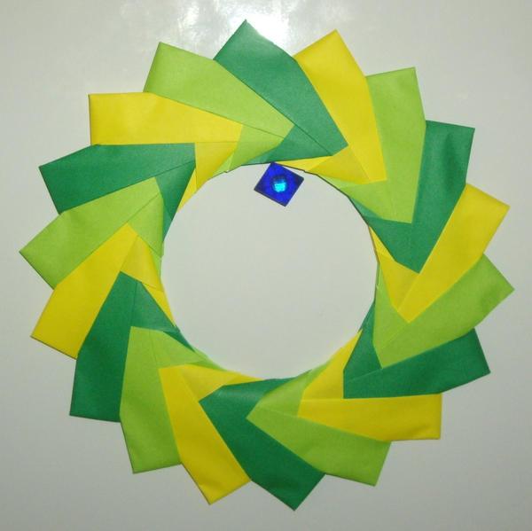 Origami Ring For My Desk By Ykansaki On Deviantart