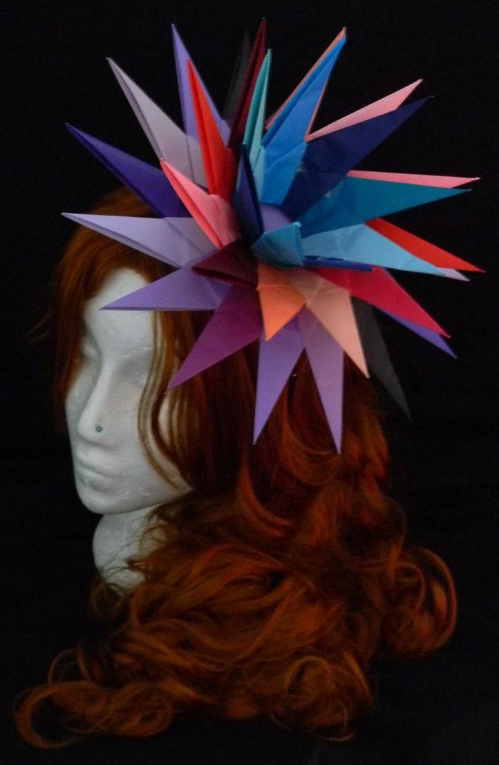 Crazy Uk Style Origami Hat By Ykansaki On Deviantart