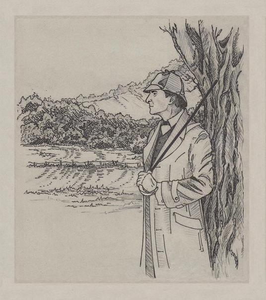 GALERIE GOODIES - Page 2 Sherlock_holmes_by_n_foxx-d4whe09