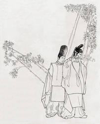 sketch (Onmyoji) by N-Foxx