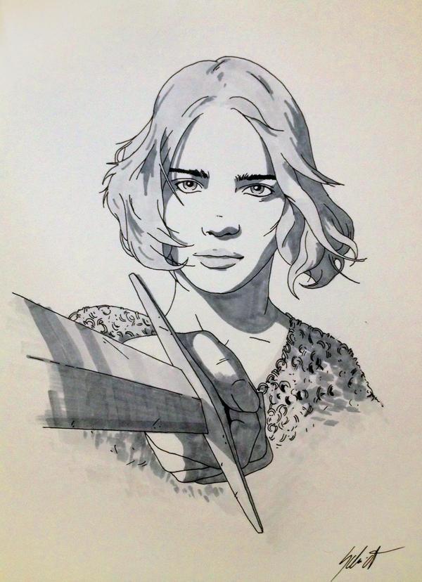 Alina - original artwork reward by VladimirSchmidt