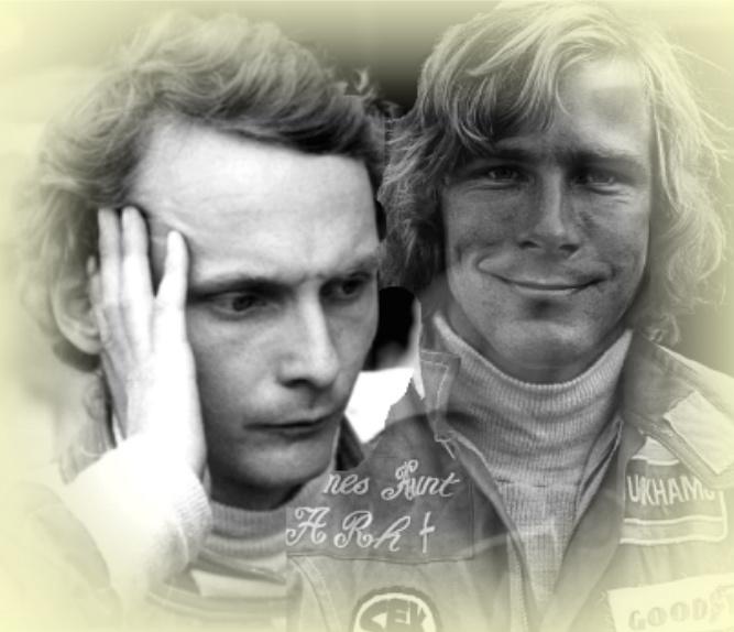 Niki Lauda James Hunt by mrssiriusblack