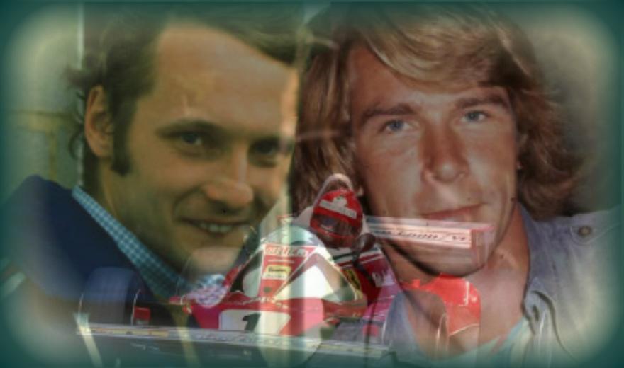 Niki and James F1 hero's by mrssiriusblack