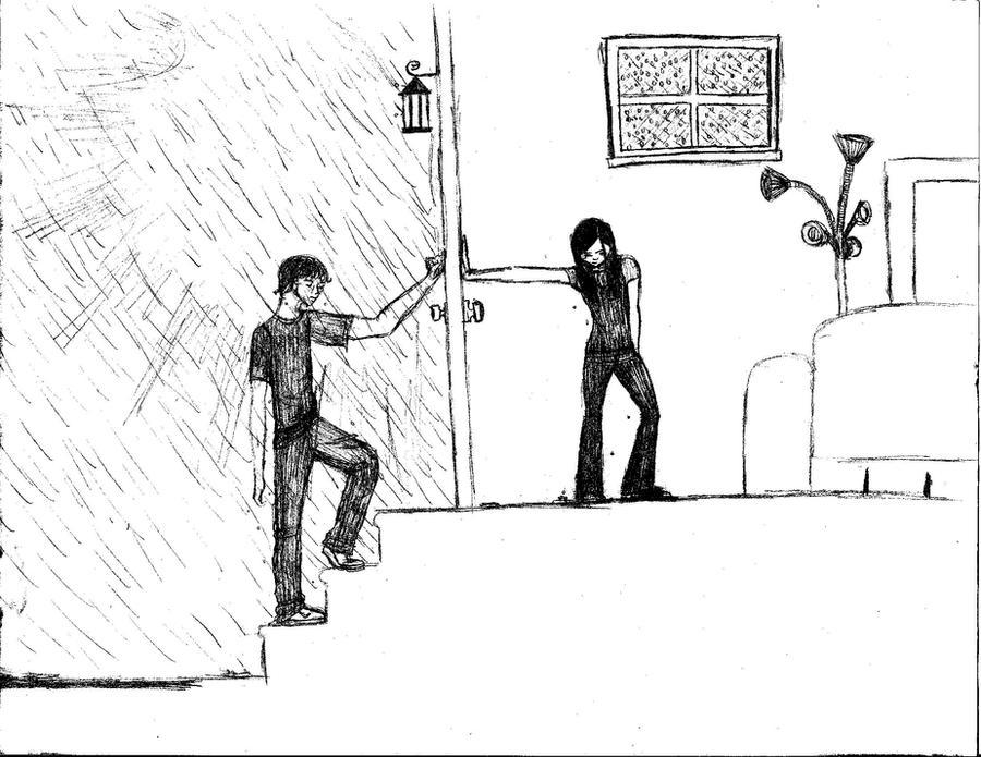 The Classic Breakup Sketch By Sodatwist143 On DeviantArt