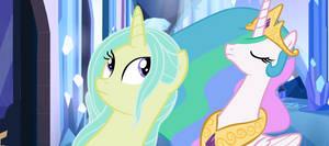Meeting Princess Celestia