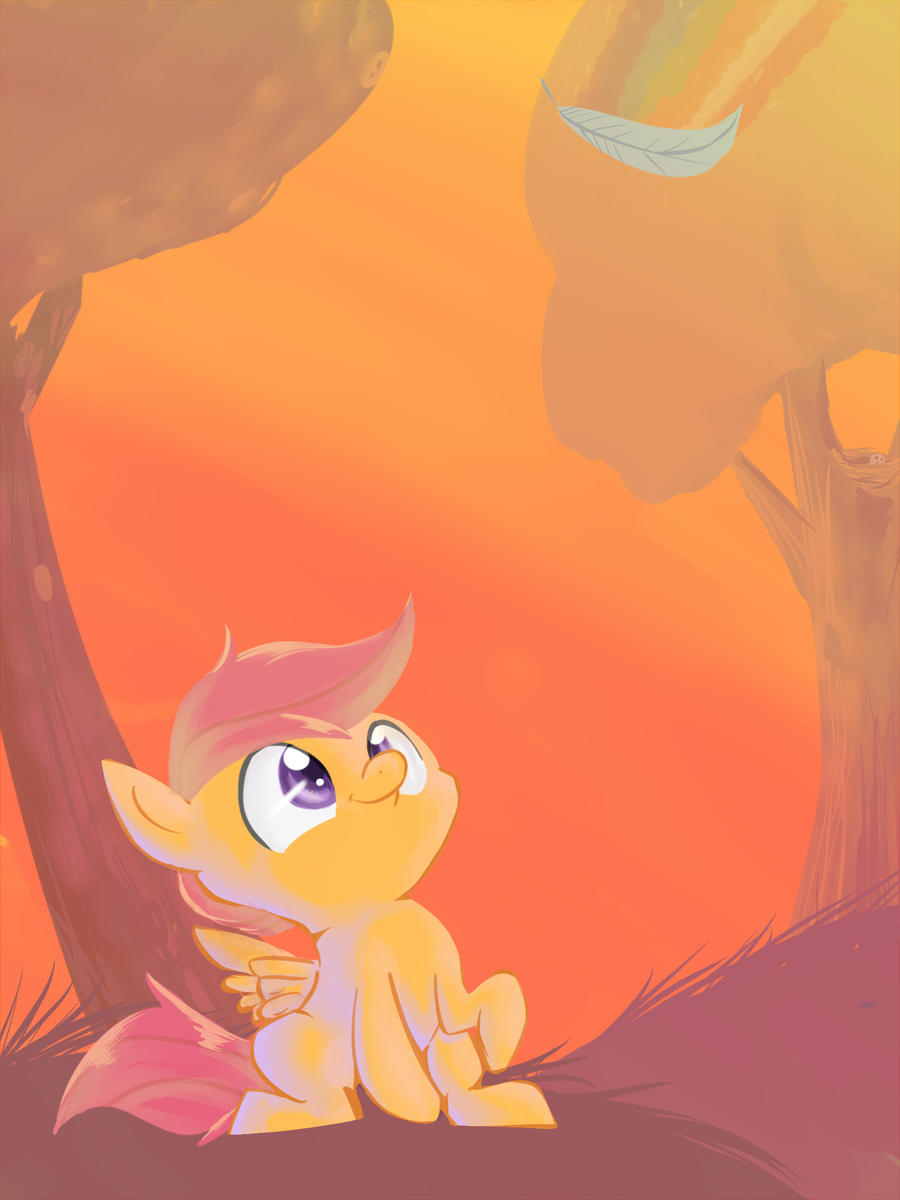 I'll Fly Higher by Spanish-Scoot