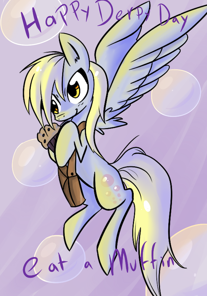 Happy Derpy Day by Spanish-Scoot