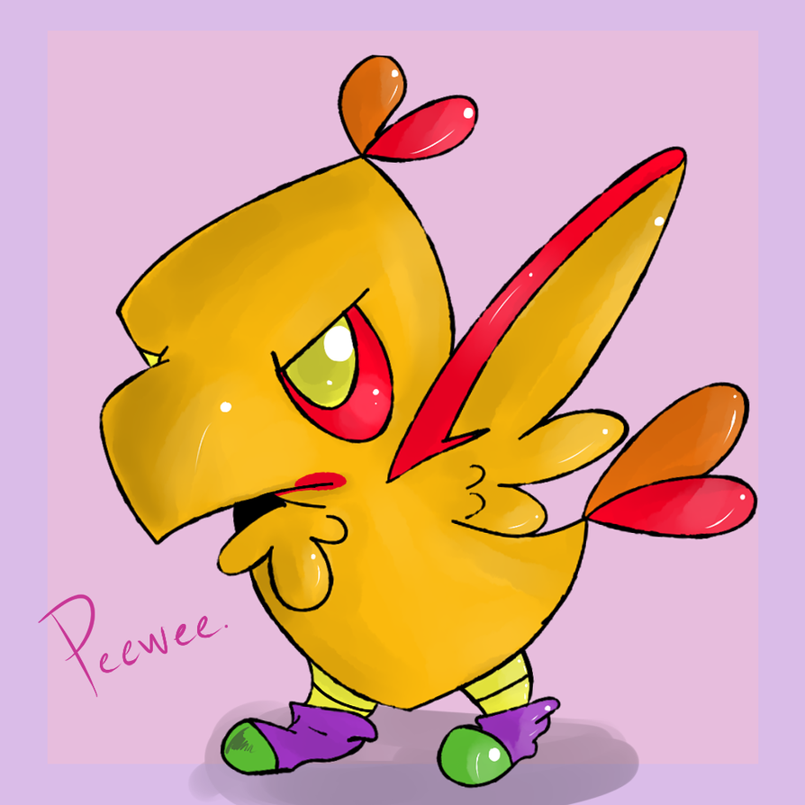 Peewee by Spanish-Scoot