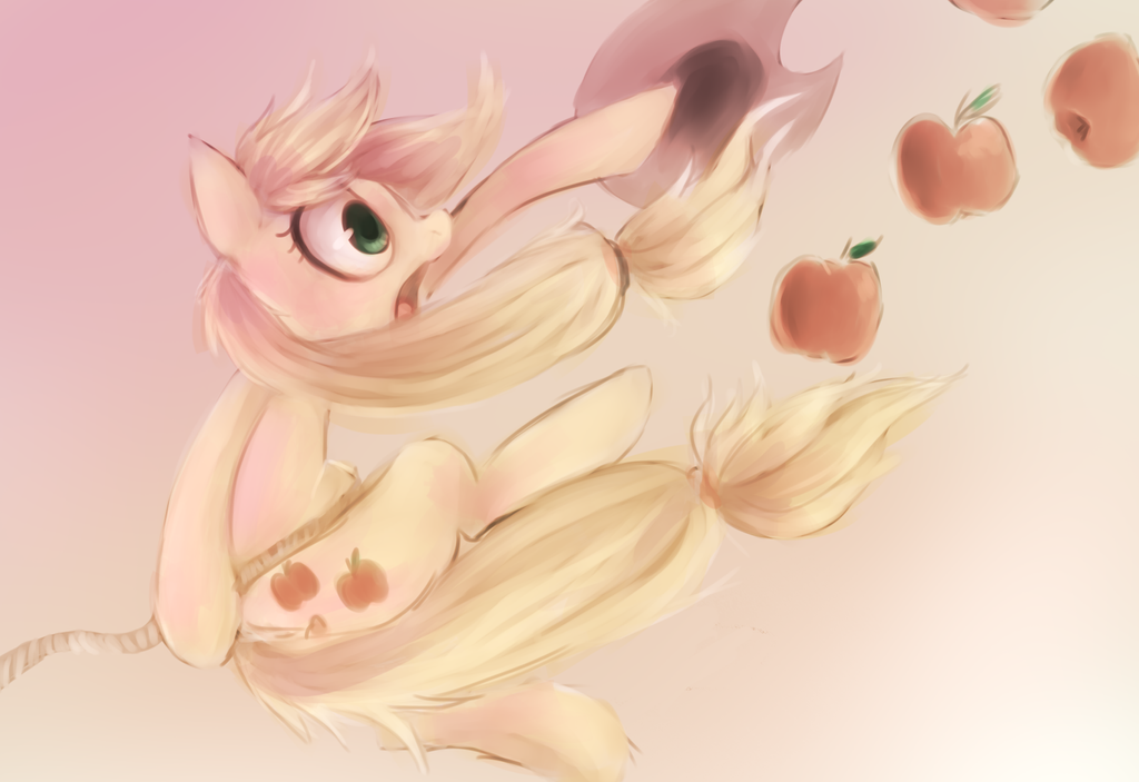 MY APPLES! by Spanish-Scoot