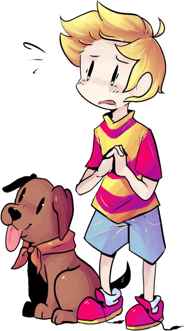 lucas and boney by Spanish-Scoot